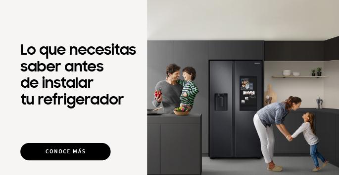 Instalación Refrigerador